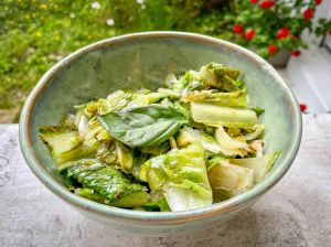 Recette Lutsubo express – Salade romaine cuite