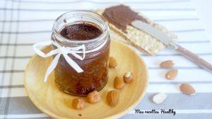 Recette Pâte à tartiner maison chocolat noisette et amande