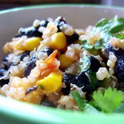 Recette Quinoa aux haricots noirs et au cumin recette pour diabétique