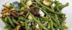 Recette Salade de haricots verts et féta