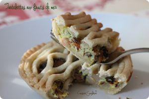 Recette Tartelettes aux fruits de mer