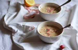 Recette Petite soupe de radis rose