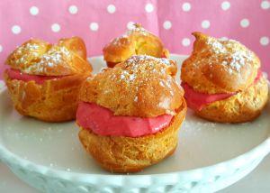 Recette Choux, trop choux, à la crème de fraises