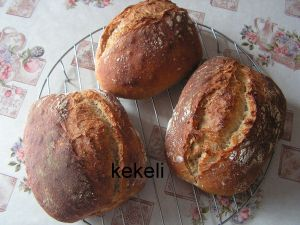 Recette Tous mes pains
