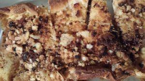 Recette Tarte crumble poire nutella et son crumble