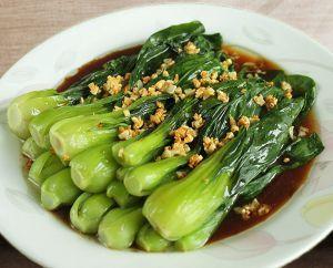 Recette Bok Choy à la sauce aux huîtres