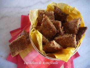 Recette Losanges aux dattes (sans gluten)