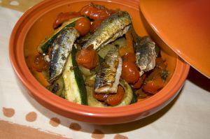 Recette Sardines en tajine