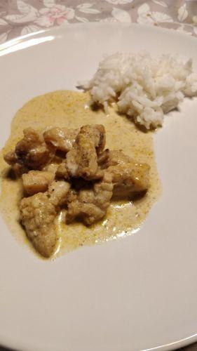 Recette Curry de lotte
