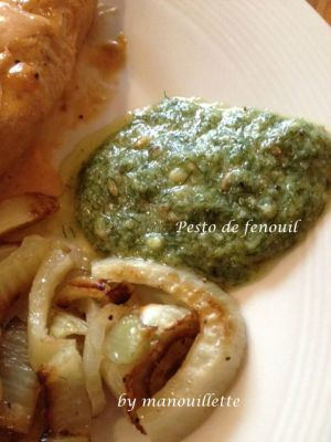 Recette Pesto de fenouil