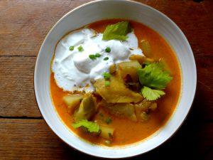 Recette Soupe de poisson islandaise – fiskisúpa (Islande)