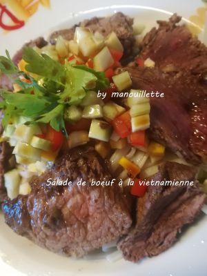 Recette Salade de boeuf à la vietnamienne