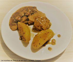Recette Filet mignon sauce moutarde à l'ancienne au Cookéo