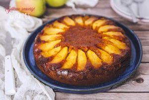 Recette Gâteau renversé aux pommes healthy