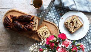 Recette Babka chocolat et noisettes