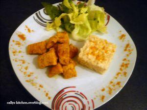 Recette Risotto au poulet (un tour en cuisine n°95)