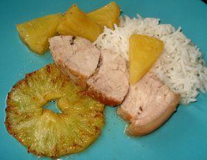 Recette Rouelle de Porc à l'Ananas