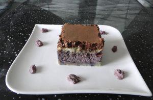 Recette Entremets myrtille, chocolat - tonka