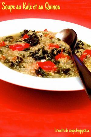 Recette Soupe: la Soupe au Kale et au Quinoa