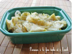 Recette Poireaux à la fève tonka