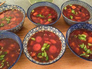 Recette Canh bí đỏ – Soupe de potiron vietnamienne