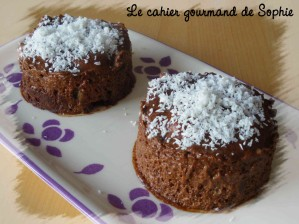 Recette Mini entremets chocolat-ananas