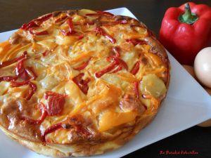 Recette Frittata aux légumes et aux piments