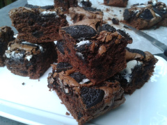 Recette Brownies aux Oreo®