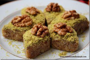 Recette Pâtisserie tunisienne / Hrissa hloua