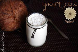 Recette Yaourt coco maison