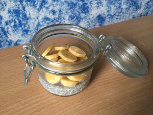Recette Porridge aux graines de chia et banane