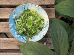 Recette Salade de concombre, menthe et balsamique blanc