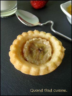 Recette Mini-tartelettes banane et spéculoos
