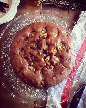 Recette Gâteau moelleux chocolat/kiwi