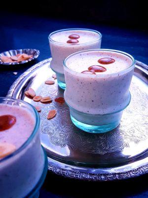 Recette Mousse au yaourt à l'amlou