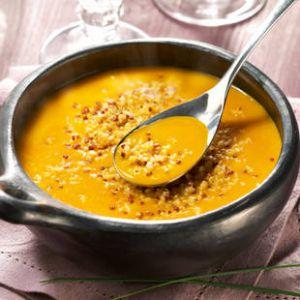 Recette Soupe de potimarron au quinoa