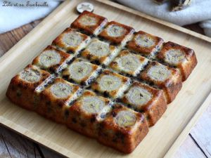 Recette Gâteau moelleux aux bananes & pépites de chocolat