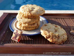 Recette Cookies au nougat