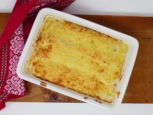 Recette Poireaux au jambon sauce béchamel