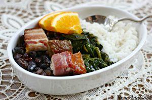 Recette Feijoada brésilienne {ragoût de viande et de haricots noirs}