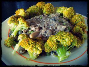 Recette Risotto et brocolis