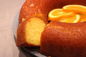 Recette Gâteau moelleux imbibé à l'orange