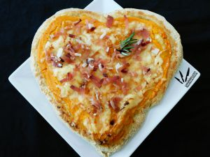 Recette Pizz'Amore (The love pizza)