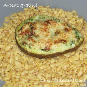 Recette Avocat gratiné