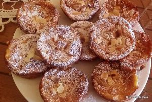 Recette Petits clafoutis pommes, poires