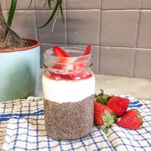 Recette Chia pudding au lait de noisettes (maison)