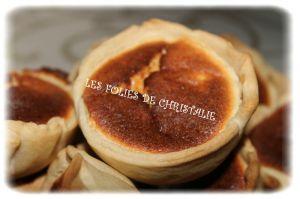 Recette Mini-tourteaux fromagers