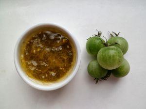 Recette Confiture de tomates cerises vertes