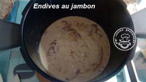 Recette Endives au jambon au cookeo