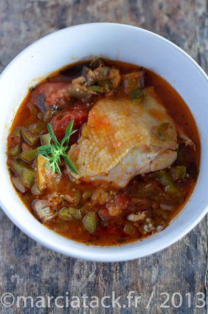 Recette Cuisses de poulet à la Provençale